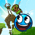 Blue Ball 11: Bounce Ball Adventure icon