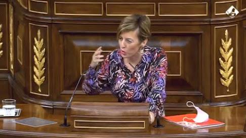 Sonia Ferrer, durante su intervención