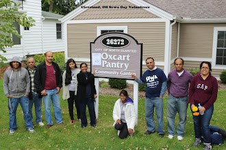 Photo: Sewa volunteers from Cleveland Ohio cleaned the community vegetable garden at Oxcart Pantry in North Olmsted during Sewa Day 2014