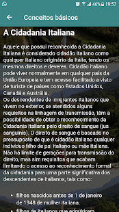Cidadania Italiana - náhled