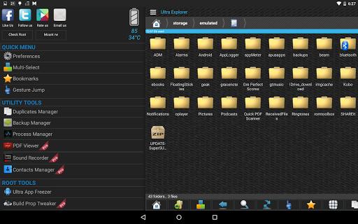 Ultra Explorer [Root Browser] 1.2.9 screenshots 9