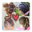 Hairstyles for Girls Step by Step daily use 2018 APK
