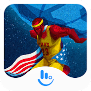MVP Basketball 2017 Keyboard Theme for TouchPal