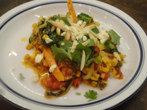 "Zucchini and Sweet Potato Pasta ""This was my first time using veggie..."