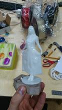 Photo: Продукт глянцевания фигурки из ABS пластика