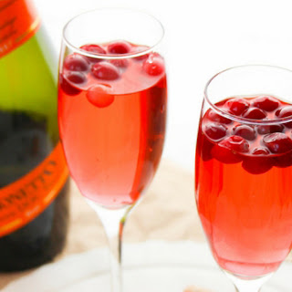 Cranberry Prosecco Punch.
