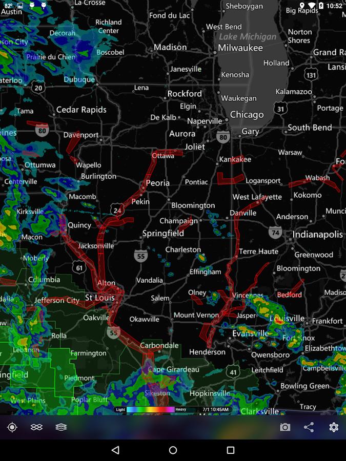 MyRadar Weather Radar Ad Free - screenshot