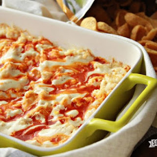 Heather's Buffalo Chicken Dip.