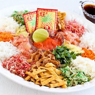 Yee Sang (Prosperity Toss Salad).