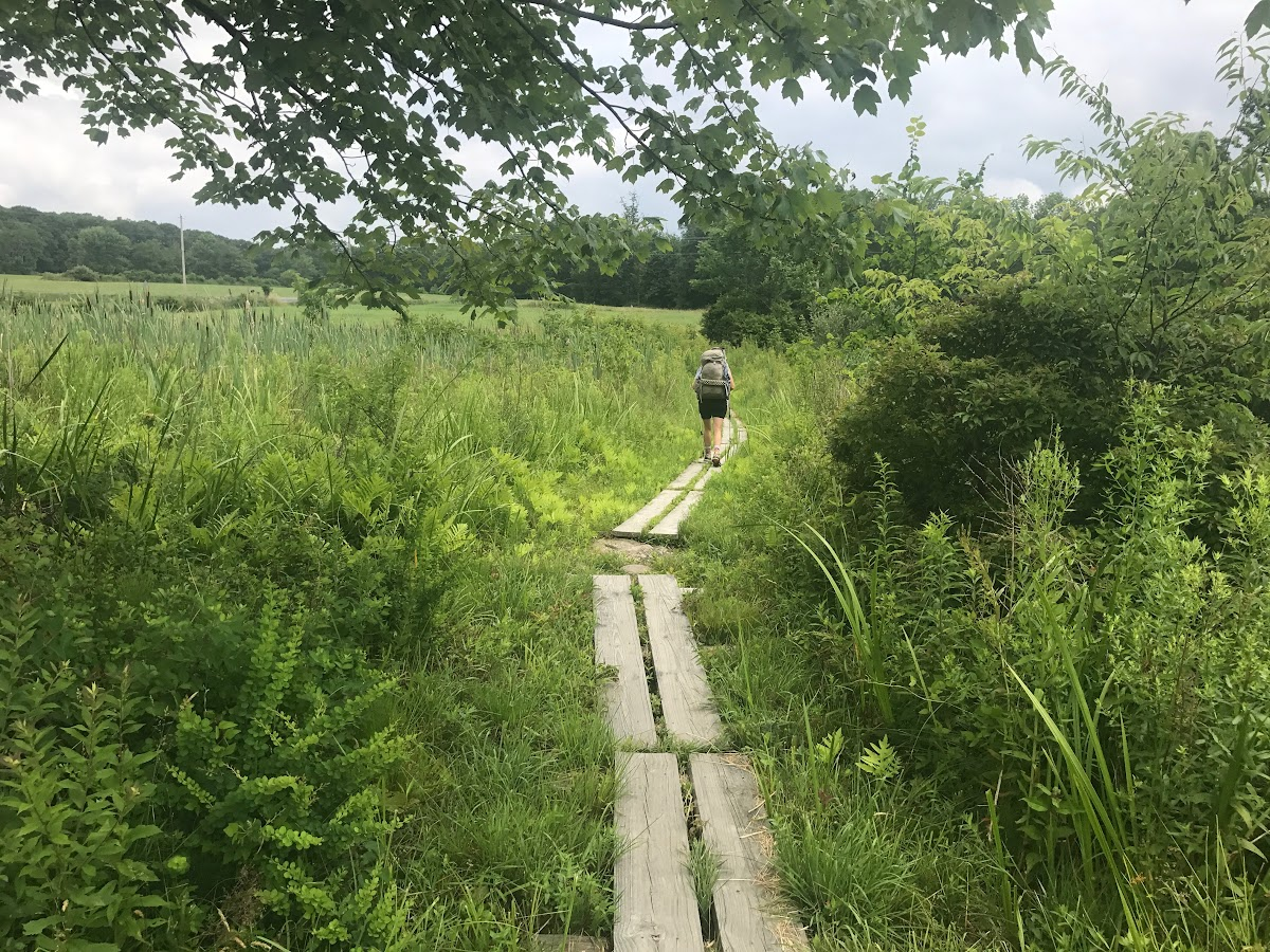 Appalachian Trail by State // On the Pochuck Boardwalk in New Jersey - Photo by: Greg Seymour