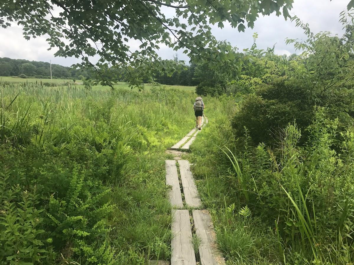 Appalachian Trail by State // On the Pochuck Boardwalk in New Jersey - Photo by: Greg Seymour