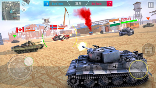 Battleship of Tanks - Tank War Game  screenshots 19