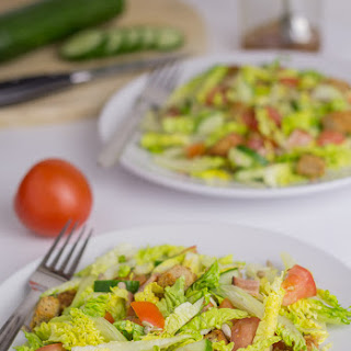 Turkey Bacon and Tomato Salad With Pennsylvania Dutch Sweet and Sour Salad Dressing