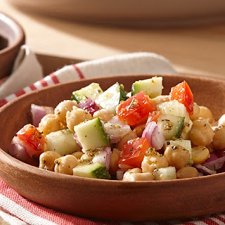Garlic & Herb Chickpea Salad