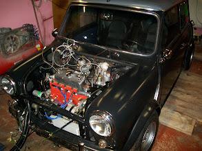 Photo: Motor ist mal ohne Kratzer drin!!
