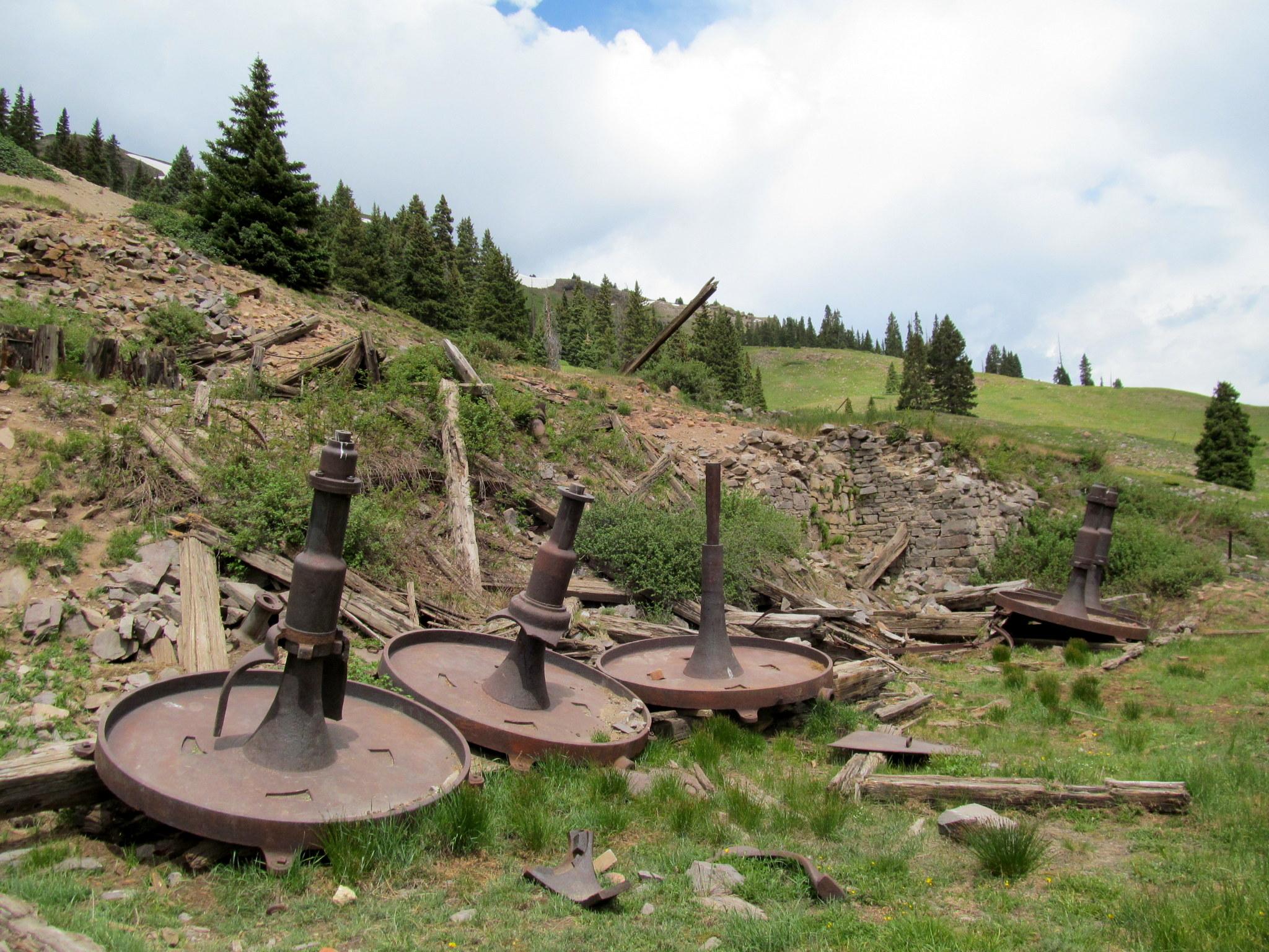 Photo: Mill along Palmetto Gulch
