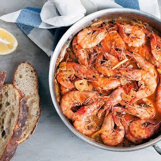 New Orleans-Style Barbecue Shrimp.