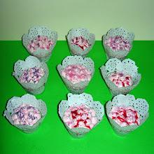 Photo: Cupcakes de helado de fresa