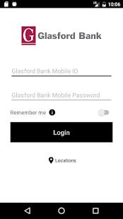 Glasford Bank Mobile - náhled