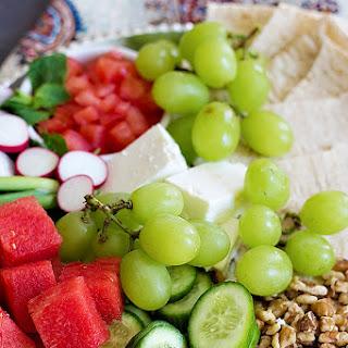 Persian Appetizer Platter Recipe