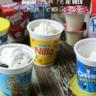 Banana Cream Pie And OREO Cream Go-Paks!.