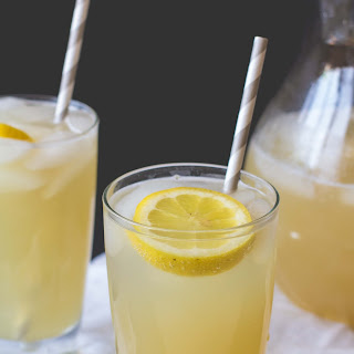 Ginger + Honey Sparkling Lemonade