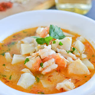 Catalan Style Fish Soup.