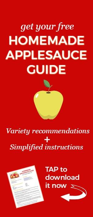 How to Make and Freeze Homemade Applesauce   Recipe