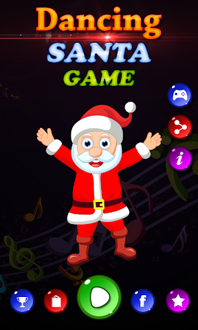 android Dancing Santa Game Screenshot 1