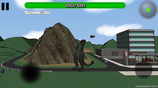 Attack of the Giant Mutant Lizard  screenshots 4