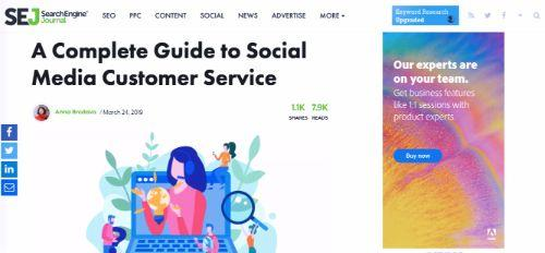 A Complete Guide to Social Media Customer Service