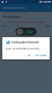 Earthquake Alarm v3