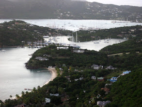 Photo: Shirley Tepelerinden Ingiliz Lİmanı - Antigua English Harbor from Shirley Heights - Antigua