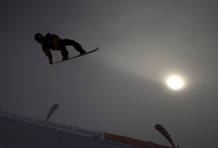 Japana's Raio Kuchisubo competes in the men's snowboard halfpipe final for the FIS Junior World Championships during the Winter Games NZ in New Zealand.