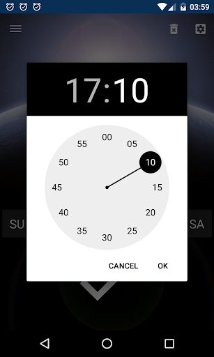 Good alarm clock without ads with music and widget screenshot 5
