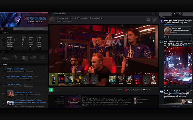 Twitch Overcharge.tv Enhancement Suite