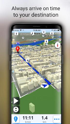 GPS Offline Maps, Directions screenshot 14