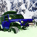Offroad Jeep - Extreme Mountain Snow Driving icon