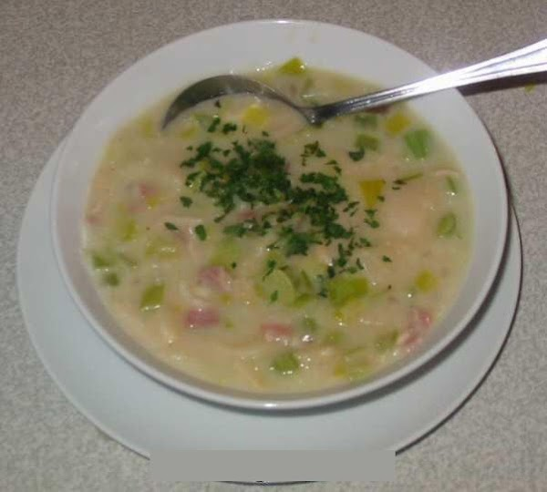 Butter Bean, Leek And Bacon Soup Recipe