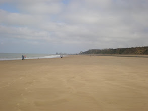 Photo: Norfolk Coast Path - From Wiveton to Cromer - The beach between Sheringham and Cromer