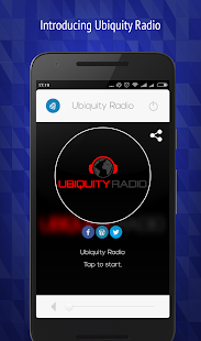 Ubiquity Radio- screenshot thumbnail