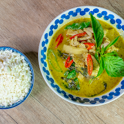 [Keto] Green Curry-Chicken