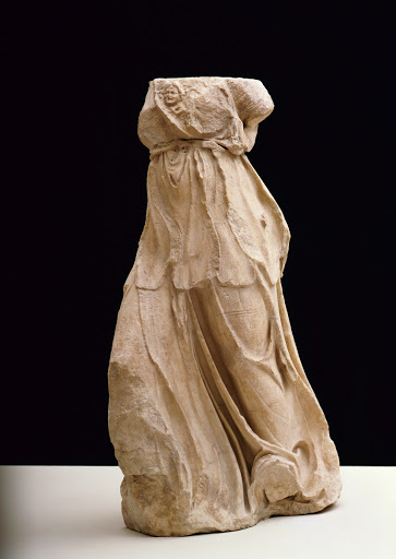 Figure from the roof of the Great Altar: Athena