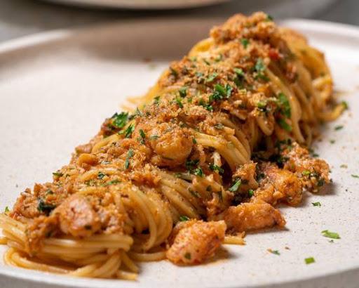 Crab Spaghettini