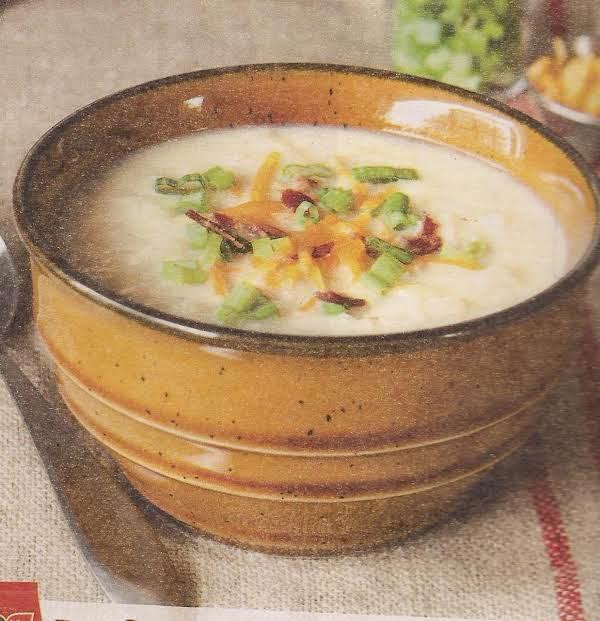 Hash-brown Potato Soup Recipe