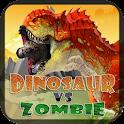 Dinosaur vs Zombie icon