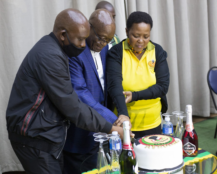 The day included song and dance, not forgetting the cutting of cake for the former president who celebrated his 79th birthday last week Monday.