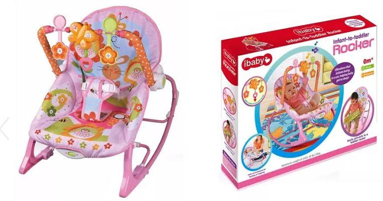 4. ibaby Infant-to-toddler Rocker