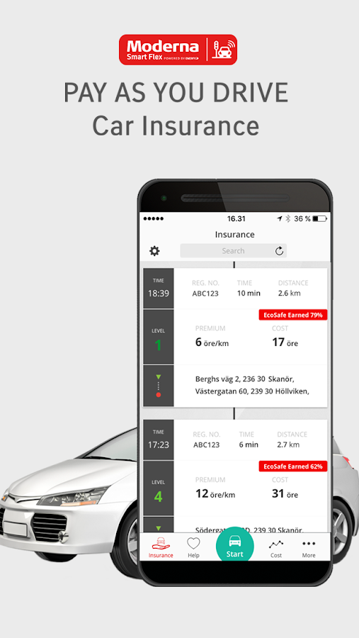 Moderna Smart Flex- screenshot