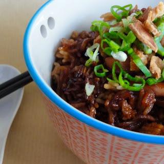 Claypot Chicken Rice, without claypot.